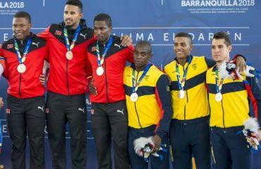Colombia alcanzó medalla de bronce en persecución equipos hombres en Juegos Centroameiricanos
