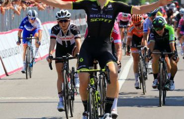 La belga, Jolien dHoore ganadora de tercera etapa de Giro Rosa