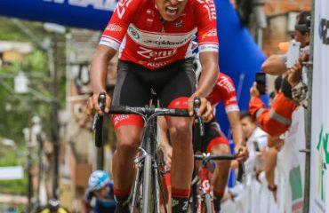 Juan Alba se impuso en última etapa de Vuelta a Antioquia (Fotos Anderson Bonilla)