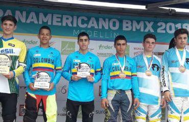 Con éxito se lleva a cabo Panamericano de BMX en Medellin (Foto FCC)