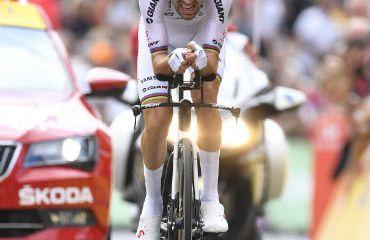 Tom Dumoulin ganador de la CRI y se mantiene segundo en la general (FOTO Team Sunweb)
