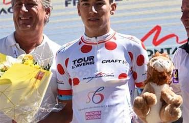 Alejandro Osorio, se quedó con el título de la montaña del Tour de L'Avenir 2018