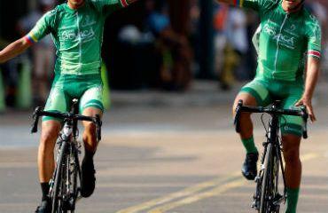 Andrés Mancipe y Santiago Umba triunfadores en Estados Unidos (Foto Gobernación de Boyacá)