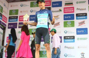 Juan Pablo Suárez ganador en Fusagasugá este viernes y se mantiene al acecho del liderato