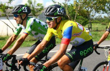Rodrigo Contreras se mantiene por tercer día líder de la Vuelta a Colombia