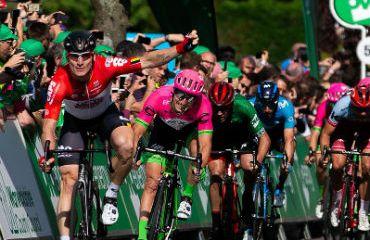 André Greipel obtuvo este miércoles su segundo triunfo en el Tour de Gran Bretaña