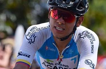 Edwin Avila uno de los colombianos que estará en la carrera italiana de un día