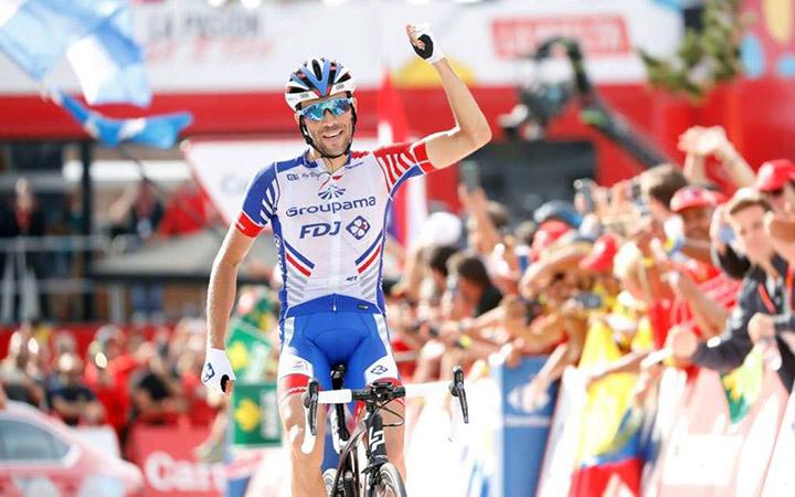 Pinot sumó su segunda etapa en la Vuelta a España 2018 tras imponerse en Lagos de Covadonga antes del primer día de descanso