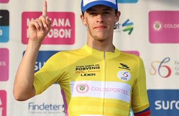 Arroyave se puso líder de la Vuelta a Porvenir a falta de una sola jornada para el final