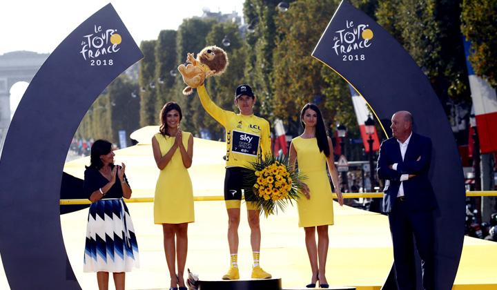 El británico Geraint Thomas es el actual campeón del Tour de Francia que mostrará su recorrido 2019 este jueves