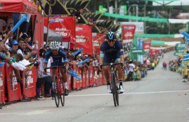 El hondureño Luis López fue el triunfador de 2da etapa de Vuelta a Guatemala (Foto Vuelta a Guatemala)