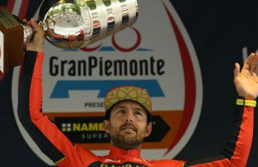 Sonny Colbrelli vencedor este jueves de la Gran Piemonte de Italia