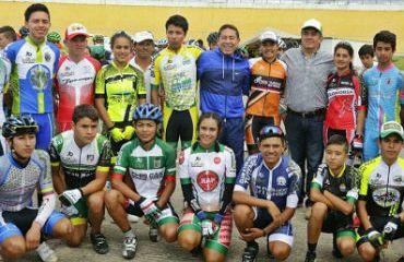 Boyacá Raza de Campeones apoyará a 40 deportistas que estarán en la Vuelta del Futuro (Foto Gob. Boyacá)