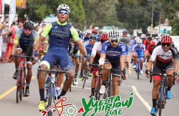 Cristopher Jurado ganador de primera etapa y líder de Vuelta a Chiriquí (Foto V-Chiriquí)