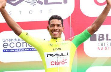 Cristopher Jurado se mantiene líder de Vuelta a Chiriquí en Panamá