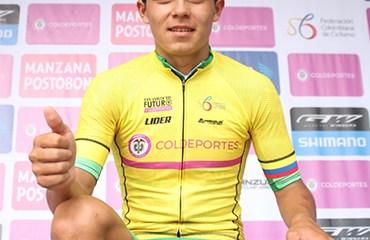 Edwin Cubides se proclamó campeón de la Vuelta al Futuro
