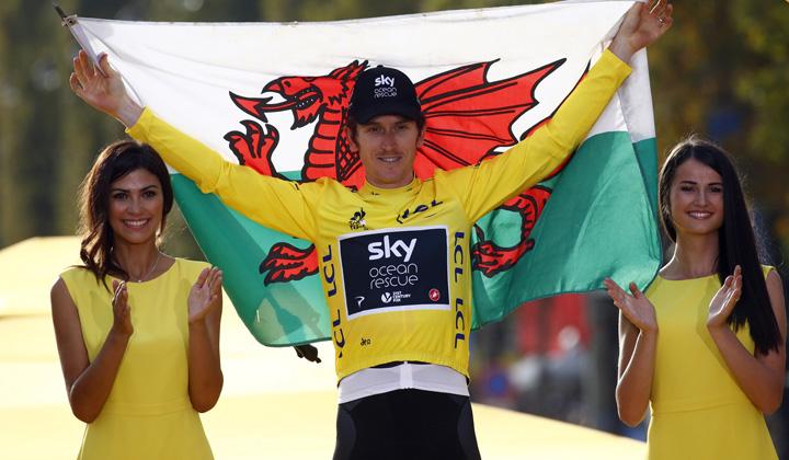 Geraint Thomas, el campeón del Tour de Francia, una de las estrellas anunciadas para el Saitama Criterium