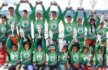 Finalizó la tercera versión de la Copa 'Boyacá Raza de Campeones' de BMX (Foto Gobernación de Boyacá)