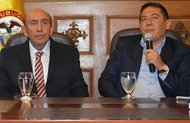 Fabio Parra juró en Tunja como nuevo Director de Indeportes Boyacá