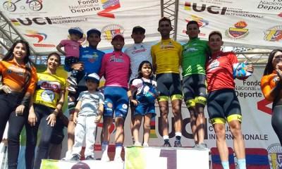 La Vuelta al Táchira cumplió este miércoles su sexta etapa con Ronald Gonzalez como líder