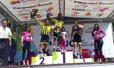 Ronald Gonzáles se llevó la quinta etapa y el liderato de la Vuelta al Táchira