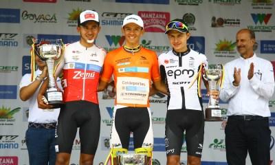 Podio Vuelta de la Juventud 2019