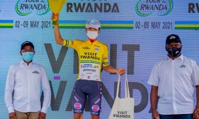 Santiago Umba Lider Tour de Rwanda