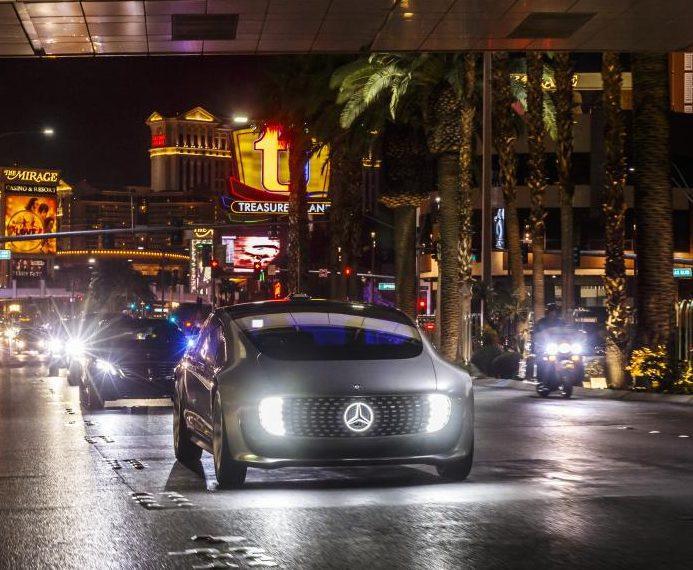 mercedes f015 – luxury in motion, conducción autónoma