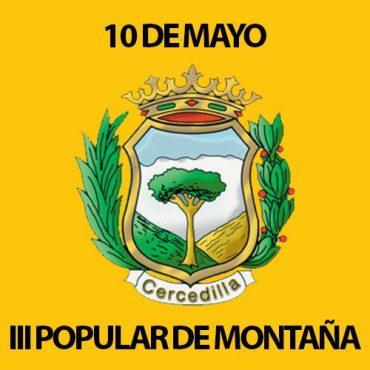 iii popular de montaña en cercedilla el próximo 10 de mayo