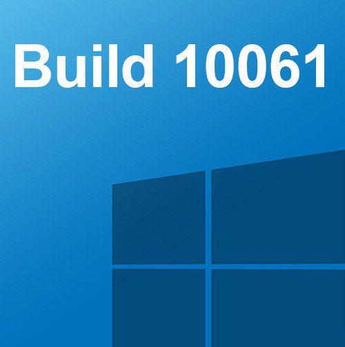 la build 10061 de windows 10, ya disponible para los miembros de windows insider
