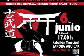 x campeonato de españa de kobudo en favor de la lucha contra el cáncer