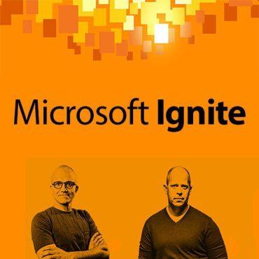 sigue en directo la microsoft ignite conference