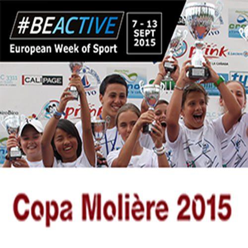 la copa molière estará presente en la semana europea del deporte