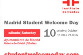 el instituto cervantes estará en el madrid student welcome day