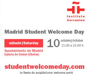 El Instituto Cervantes estará en el Madrid Student Welcome Day 2