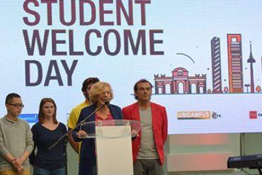 madrid se convierte en la primera ciudad de europa que celebra un acto oficial de bienvenida para estudiantes extranjeros