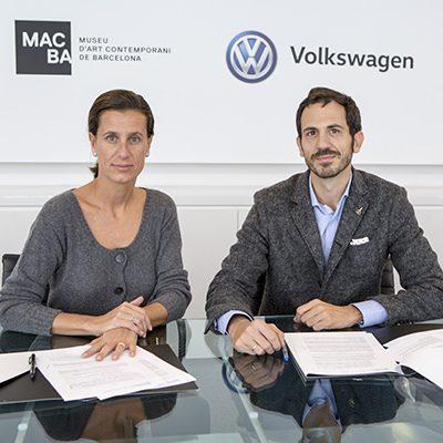 volkswagen y fundación macba renuevan su colaboración para apoyar la creatividad e innovación en el arte