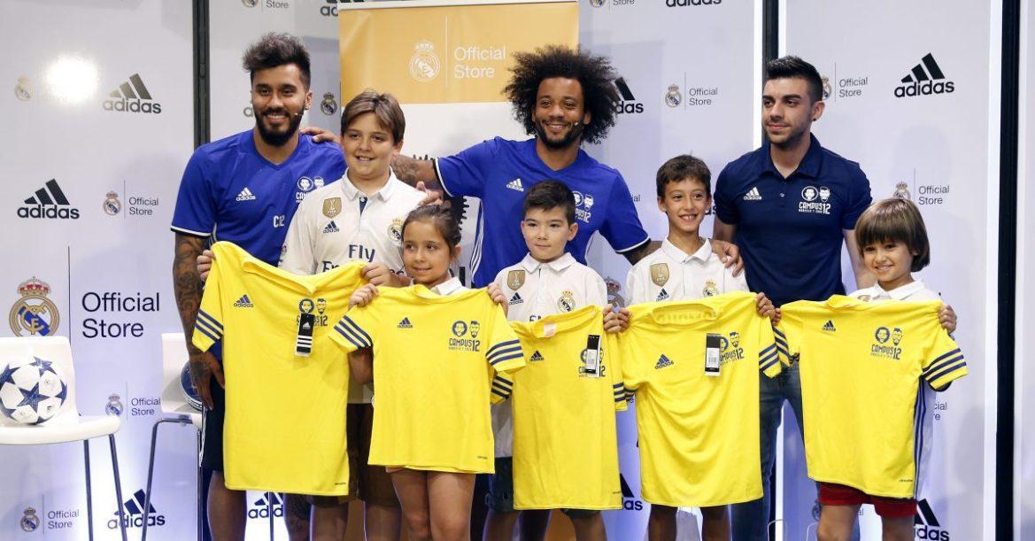 marcelo inaugura campus de verano para los más futboleros
