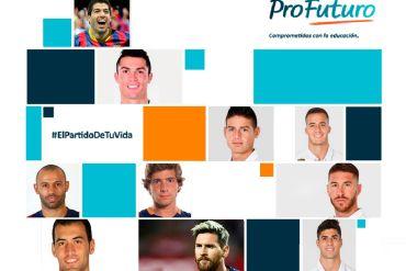 real madrid y fc barcelona, unidos por la educaciÓn