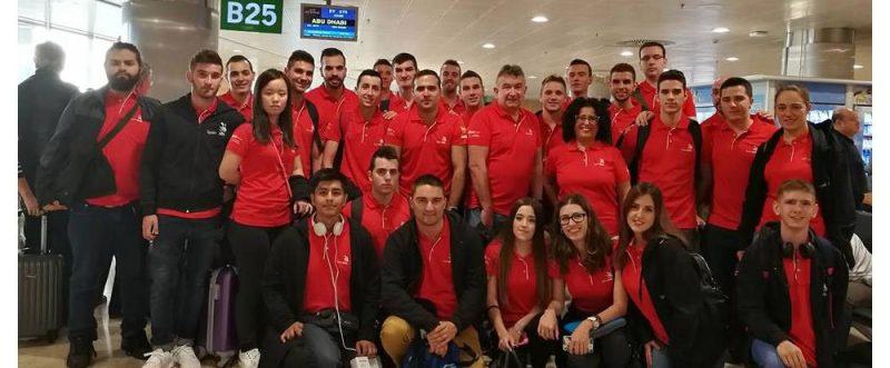 veinticinco estudiantes españoles de formación profesional, 44ª world skills de abu dhabi 2017