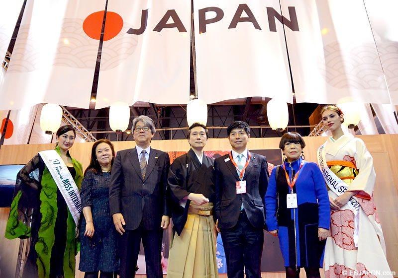 apertura del 150 aniversario de relaciones diplomáticas entre japón y españa.