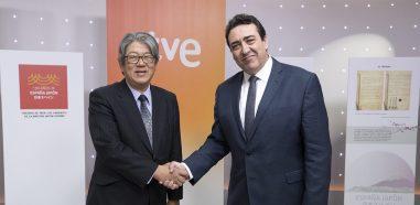 programación especial con motivo del 150º aniversario españa-japón