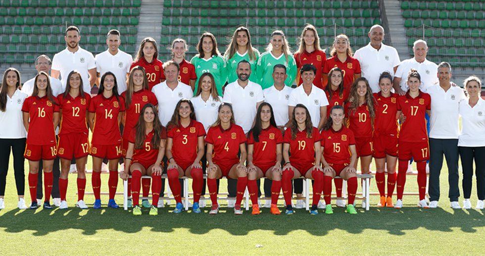 españa por primera vez en la final de fútbol femenino