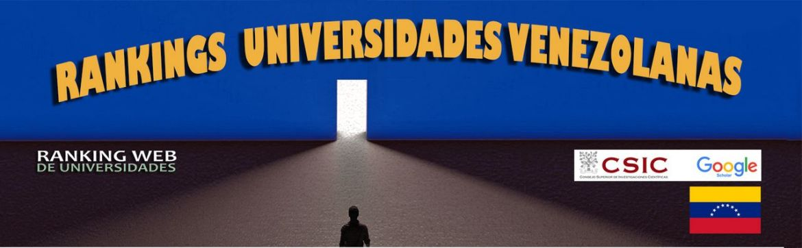 ranking web de universidades venezuela