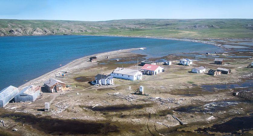 perdida de permafrost y radiación solar en Ártico