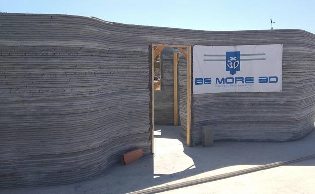 Casa 3D en África