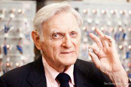 premio nobel de química para john goodenough de la universidad de texas en austin