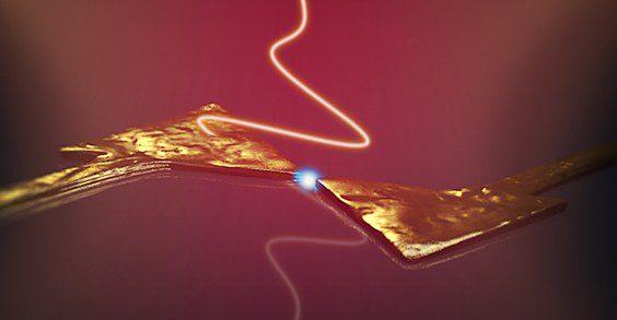luz láser para manipular electrones de forma ultrarrápida