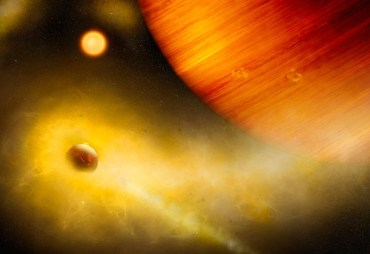 exoplaneta gigante que llueve hierro