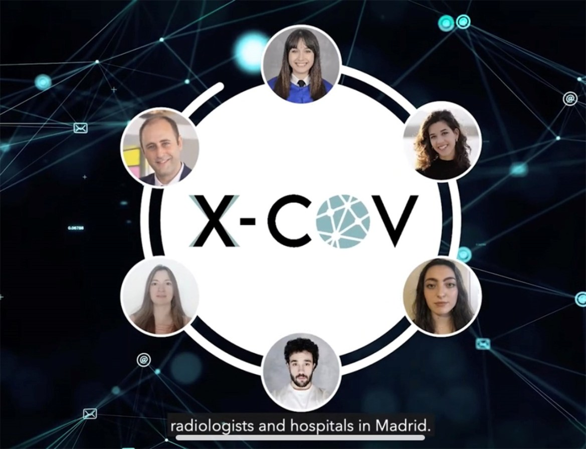 el proyecto de la ucm  x-cov, ganador absoluto del hackathon